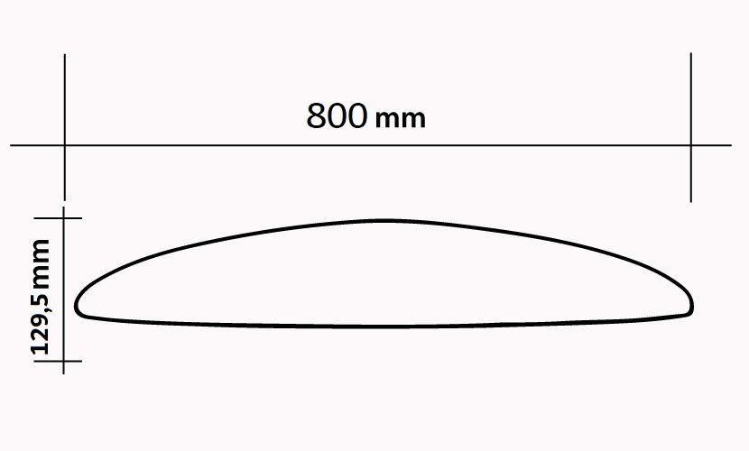 datos tecnicos hydrofoil moses w800